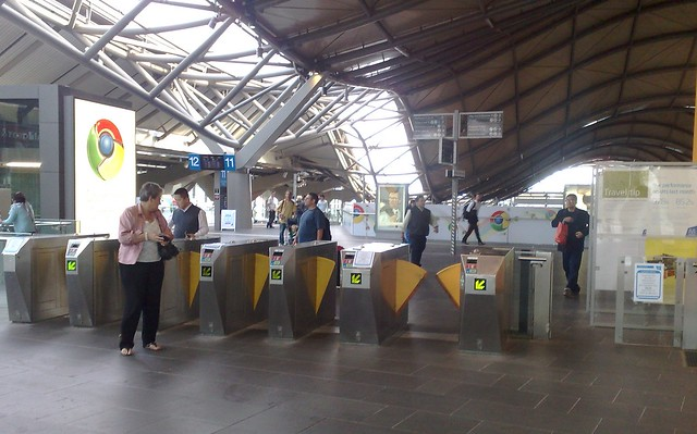 POTD: Gates left open and unattended at Southern Cross