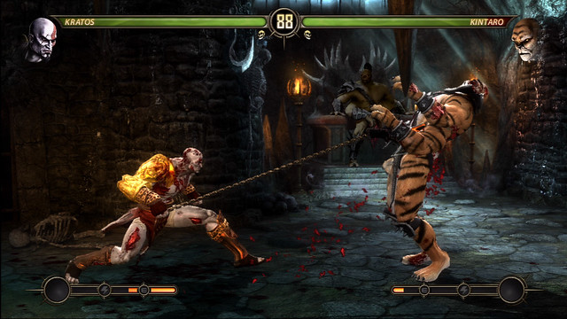 mortal kombat 9 kratos