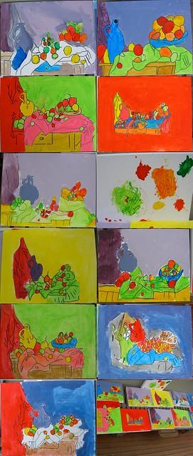 Kids Cézanne Art Class