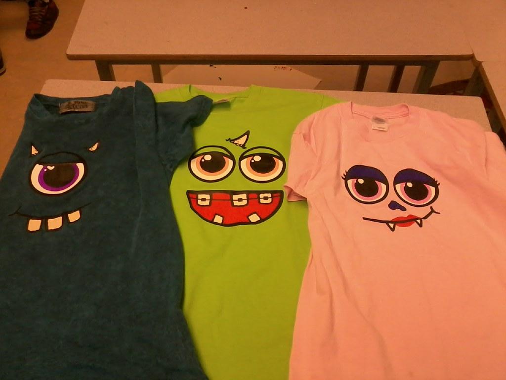 Finished T-Shirts!