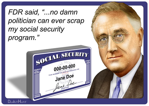 From flickr.com: FDR on Social Security {MID-203160}