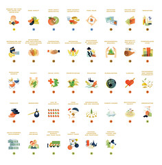 Expo Icons (densitydesign) Tags: illustration design expo icon density infographics pictograms