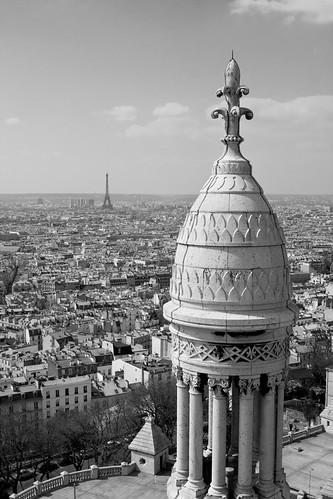 Eiffel Tower from Sacré-Coeur