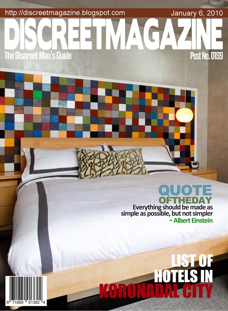 Discreet Magazine January 6 2010