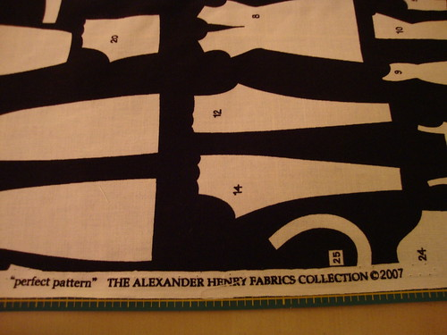 """perfect pattern"" Alexander Henry collection"
