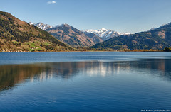 zell am see (1) (Hadi Al-Sinan Photography) Tags: blue lake mountains nature canon landscape photography austria see am shot mark best explore ii 5d zell hadi 2011 alsinan alssinan