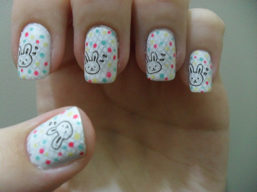 Nail Art - Happy Easter! by DéboraWernke
