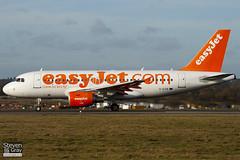 G-EZIK - 2481 - Easyjet - Airbus A319-111 - Luton - 110207 - Steven Gray - IMG_9347