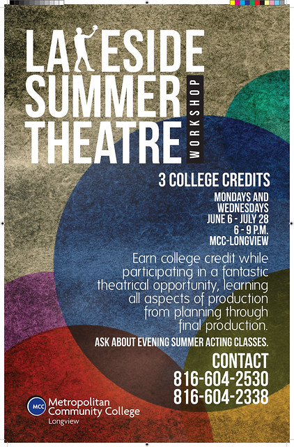 Lakeside Summer Theatre Workshop poster
