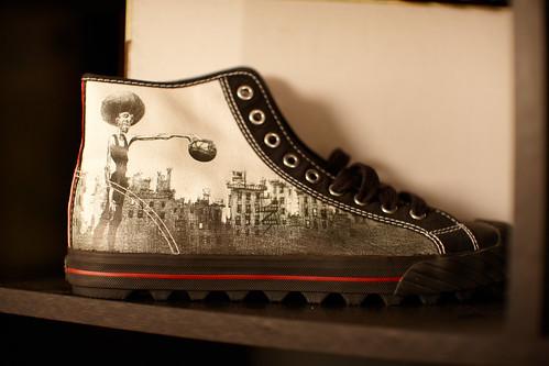 Afro + Cityscape = BUA Kicks!