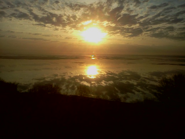 Восход. Первое озеро