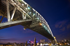 Circular Quay (photo obsessed) Tags: night sydney australia circularquay newsouthwales sydneyharbourbridge