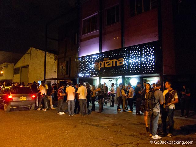 Prizma Discoteca in Barrio Colombia