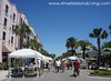 Booths Line Fernandina Streets During Shrimp Festival