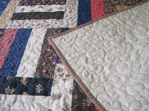 Mini-quilts for Rima - backing