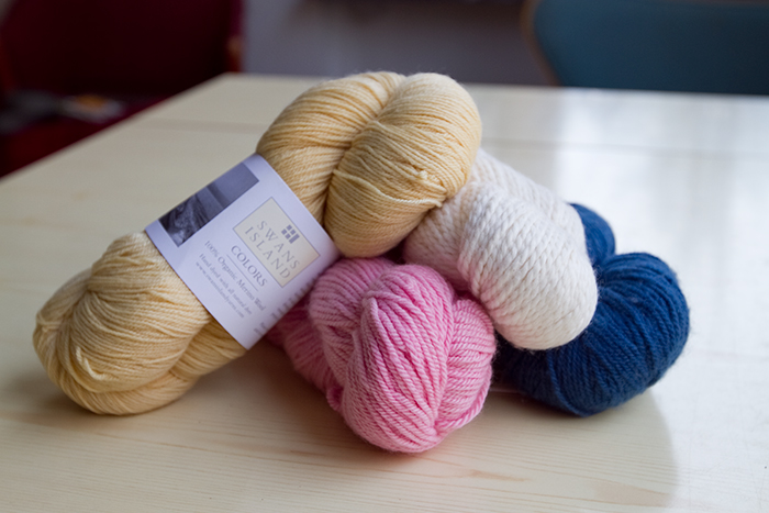 New Yarn from Purl Soho, NY.