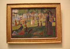 Seurat Study for A Sunday on La Grande Jatte