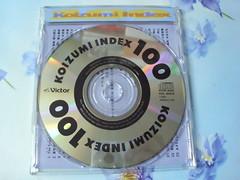 原裝絕版 1992年 小泉今日子 KYOKO KOIZUMI INDEX 100 CD 原價  2800YEN 中古品 3