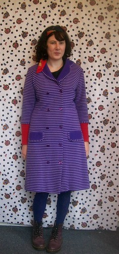60s Purple Coat