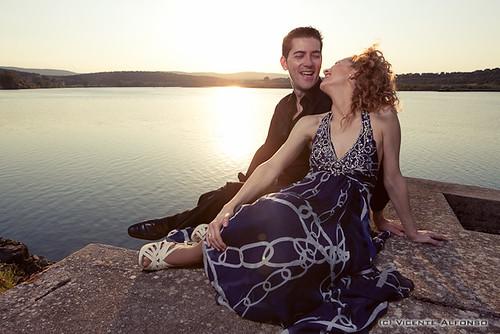 Blanca y Rober por el fotógrafo Vicente Alfonso