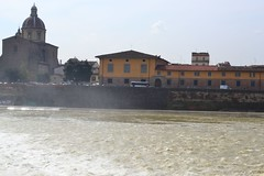 DSC_0256 (5) (pjpink) Tags: italy reflection water river florence spring tuscany firenze arno 2011 pjpink