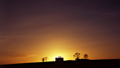 Abandoned Castle, Rathcoffey, Co Kildare, Ireland. (2c..) Tags: ireland sky building tree castle abandoned film silhouette landscape evening spring images ambient decayed 2c kildare cokildare cmwdyellow 72dpipreview lowresolutionpreview 2c