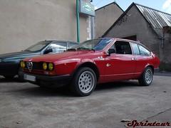 Alfa Romeo Alfetta GTV Delta (Sprinteur) Tags: rouge 2000 alfa romeo gtv rosso autodelta alfetta