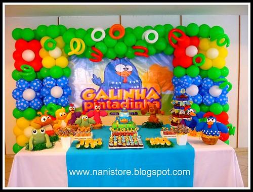 Turma da Galinha Pintadinha  a set by ♥Nanistore♥
