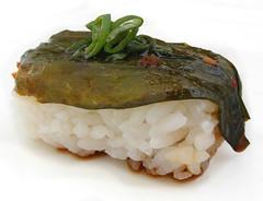 Sesamblad sushi