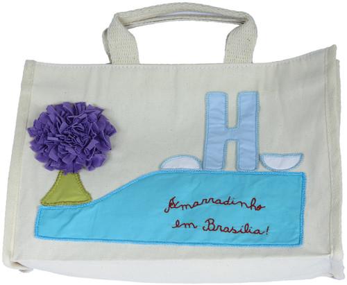 """Bolsa """"Amarradinho em Brasília"""" 2 by PARANOARTE"""