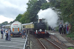 9466 (Conner Nolan) Tags: steam looe liskeard 9466