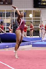 TWU Gymnastics [Floor] Chaynade Knowles (Erin Costa) Tags: college dance illinois university texas floor exercise state tx womens gymnast gymnastics practice ncaa knowles twu routine womans centenary usag twugymnastics chaynade