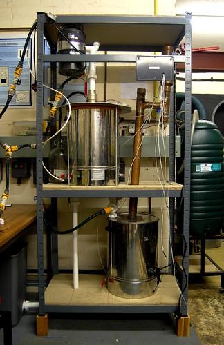 Biofuel production rig