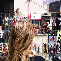 Whatdayathink? Lets ask Flickr! (vintagedept) Tags: urban reflection london mirror shoreditch sales bricklane cheap iphone4 sunnystrollpartii whitechapelgalleryvisitattempt101beta