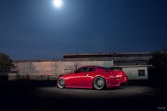 John's Nissan 350z (Evano Gucciardo) Tags: longexposure light moon newyork lightpainting cars car night work stars paint nissan automotive abandon 350z vsxx worldcars