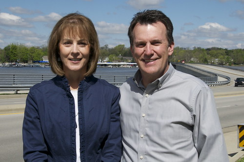 Doreen and John Long, owners of Allegra Marketing, Print and Signs in Castleton.