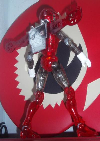 Microman x Henshin Cyborg Customs