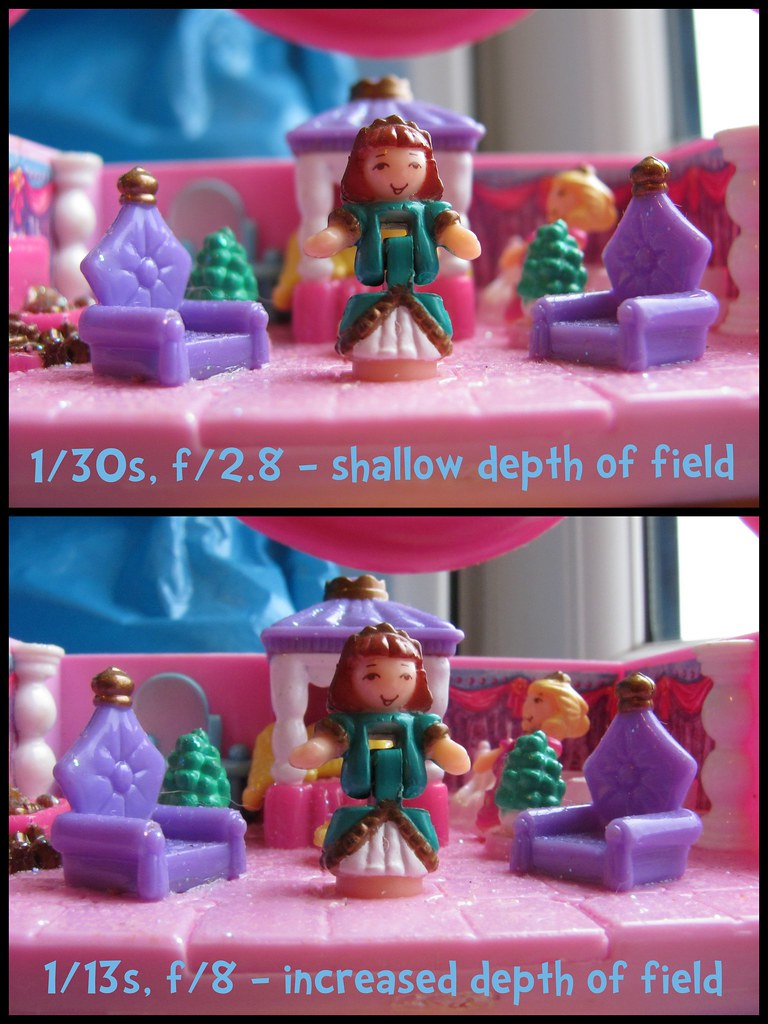 New camera! polly pocket dof test