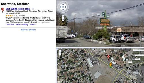 Sno-White Google maps