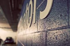 phew (grrlTravels) Tags: parkinggarage signage cinderblockwall hospitaloftheuniversityofpennsylvania clinicvisit perelmancenter researchhospital patientelevators