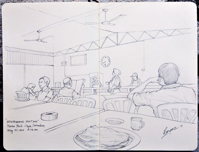 Kopitiam in Pencils