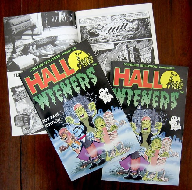 "Ryan Brown's ""HALLOWIENERS"" #1; TOY FAIR edition, SM.v (( 1989 ))"