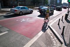 Śluza rowerowa, Wrocław, ul. Kazimierza Wielkiego