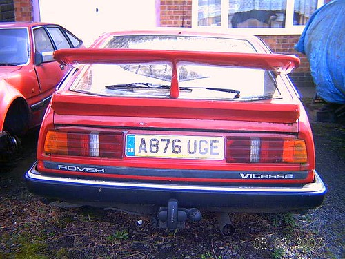 Rover Sd1 Vitesse. MARCH 1984 ROVER SD1 VITESSE