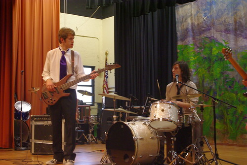 Sam and Gabe at Battle of the Bands 2011
