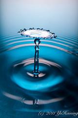 Drop Collision 41 (YuHaining) Tags: macro water drop impact droplet splash liquid highspeed collision splashing fliud