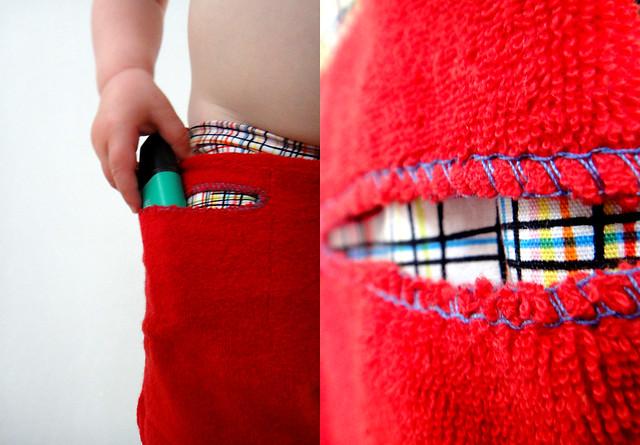 Details sponge shorts