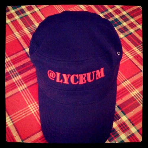 Twitter 40+(100=140) @Lyceum cap