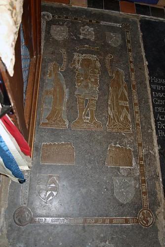 John Colte, Elizabeth Elrington (r) & Mary de Lisle (l) 1521 (1)