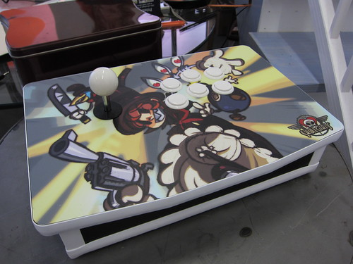 Skullgirls Custom Stick: Peacock